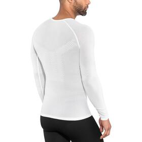 Compressport 3D Thermo UltraLight Koszulka do biegania z długim rękawem biały